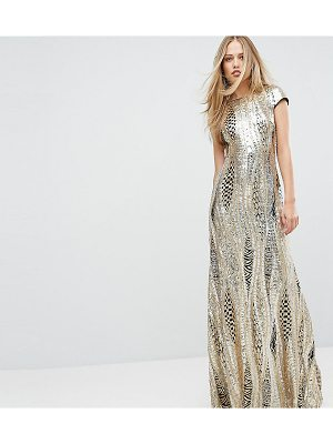 TFNC Allover Sequin Maxi Dress