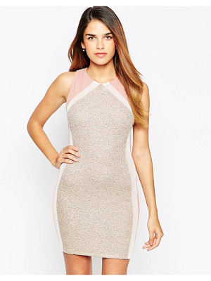 TFNC Body-Conscious Mini Dress With Back Detail