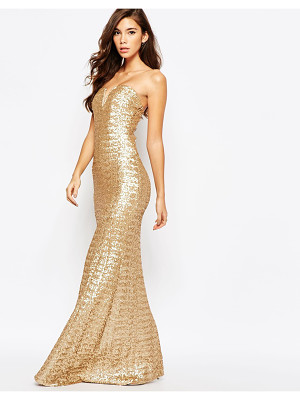 TFNC Showstopper Sequin Maxi Dress