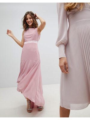 TFNC Wedding Maxi Dress With High Low Hem