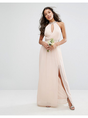 TFNC wedding maxi dress with embellishment