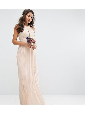 TFNC Wedding Pleated Maxi Dress