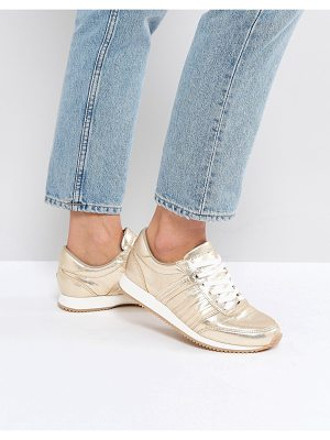 Tommy Jeans Lace up Metallic Sneaker