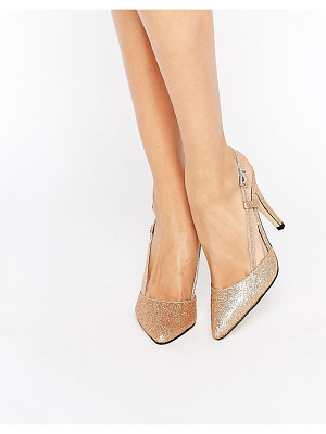 TRUE DECADENCE Cut Out Sling Heeled Shoes