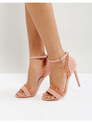 True Decadence pleat heeled sandals