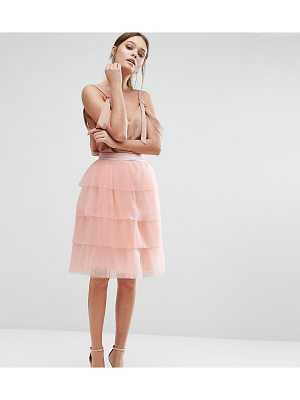 True Decadence Tiered Tulle Mini Skirt