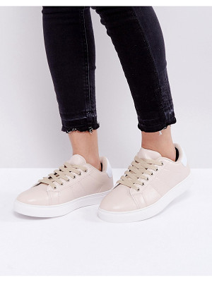 Truffle Collection Clean Contrast Sole Sneakers