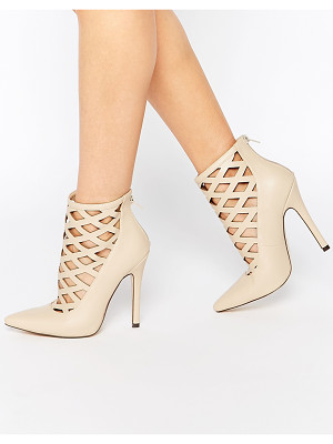 TRUFFLE COLLECTION Skye Cut Out Heeled Shoes