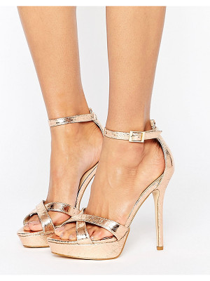 TRUFFLE COLLECTION Stiletto Platform Sandal