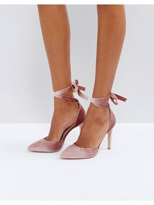Truffle Collection Tie Ankle Point High Heels
