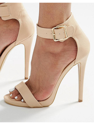 TRUFFLE COLLECTION Truffle Barely There Heeled Sandals