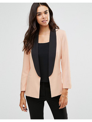 Unique 21 Tailored Blazer With Contrast Trim
