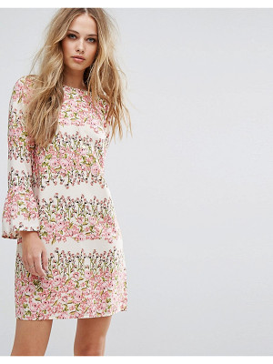 VERO MODA Floral Print Shift Dress