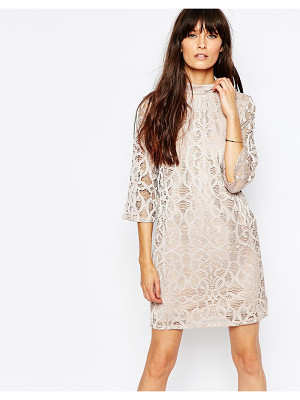 Vero Moda High Neck Lace Dress