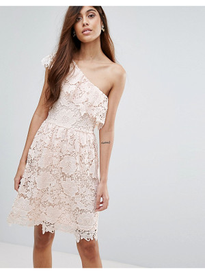 VERO MODA Lace One Shoulder Dress