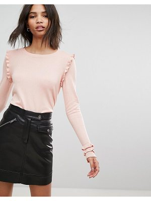 Vero Moda Ruffle Sleeve Top