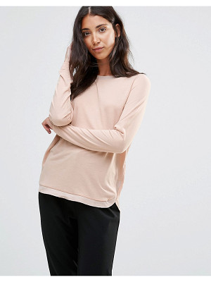 VERO MODA Sand Long Sleeve Tee