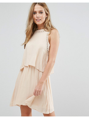 Vila Double Layered Sleeveless Dress
