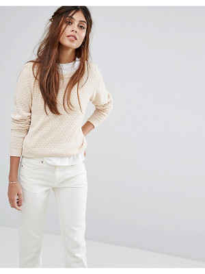 Vila Open Knit Sweater