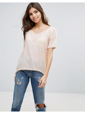 VILA Split Back T-Shirt