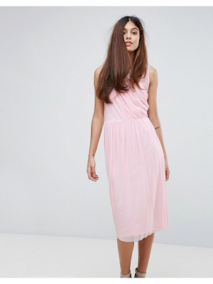 WAREHOUSE Occasion Mesh Wrap Dress