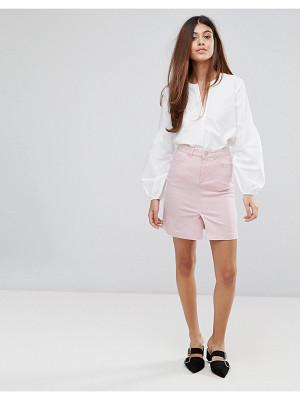 WAREHOUSE Split Front Skirt