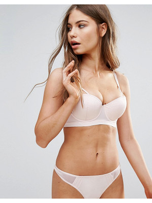 WOLF & WHISTLE B-G Cup Blush Underwire Bra
