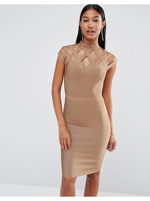 Wow Couture WOW Couture High Neck Bandage Dress