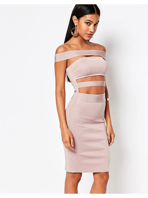 WOW COUTURE Wow Couture Off Shoulder Bandage Dress