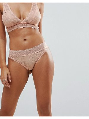 Y.a.s Lace Brief
