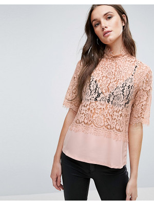 Y.A.S Luna Lace Shell Top