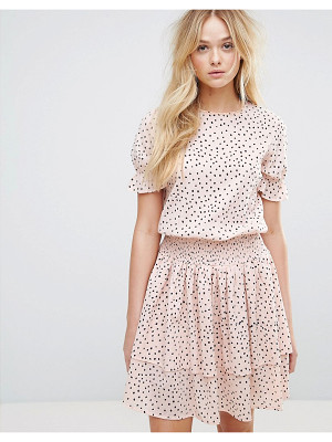 Y.a.s Polka Dot Ruffle Dress