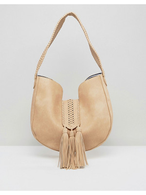 YOKI FASHION Suede Effect Shoulder Bag