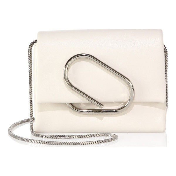 3.1 PHILLIP LIM alix micro leather crossbody bag - Compact crossbody bag with a front clip detail. Crossbody...