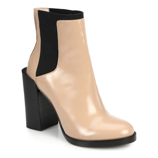 3.1 PHILLIP LIM Emerson polished leather ankle boots - An elevated take on the classic Chelsea boot in polished...