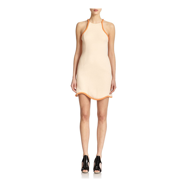 3.1 PHILLIP LIM Textured tank dress - Sporty-chic design highlights this textures dress, finished...