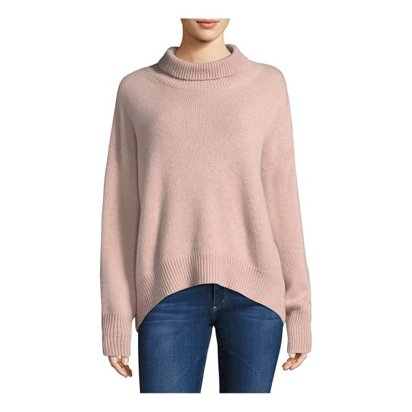 360CASHMERE cashmere turtleneck - Cashmere sweater finished in knitted stitching. Turtleneck....