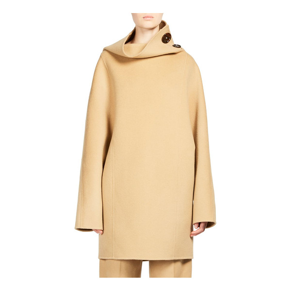 ACNE STUDIOS chessa wool jacket - High neck pullover jacket in luxe wool. High neckline with...
