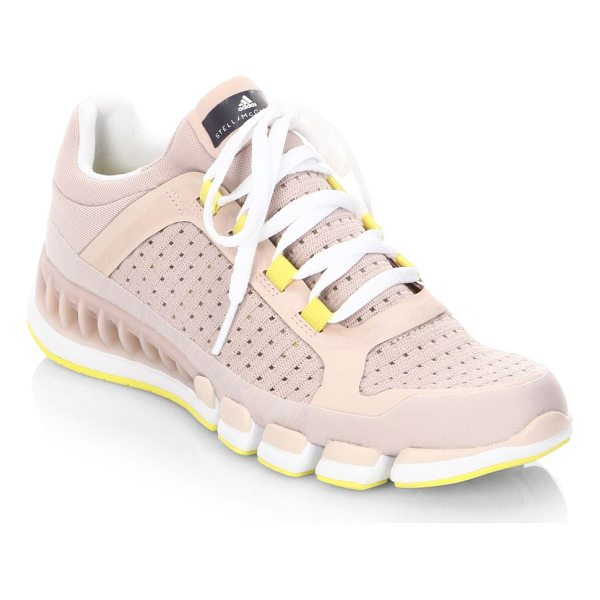 ADIDAS BY STELLA MCCARTNEY clima cool revolution sneakers - Lightweight perforated knit sneaker with contrast trim....