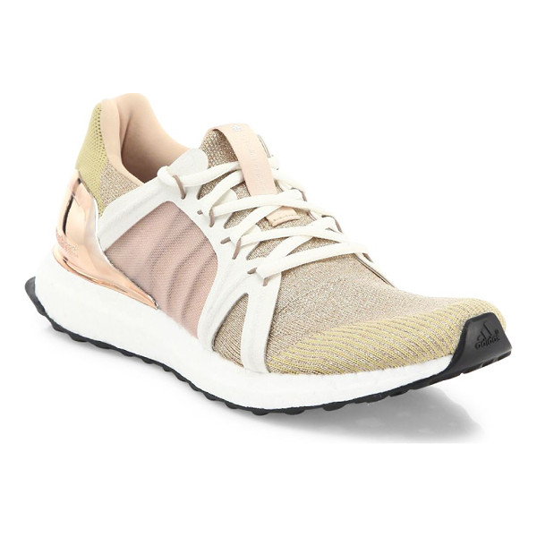 ADIDAS BY STELLA MCCARTNEY ultra boost running sneakers - Stretch-knit sneaker with tech-fabric and mesh panels....