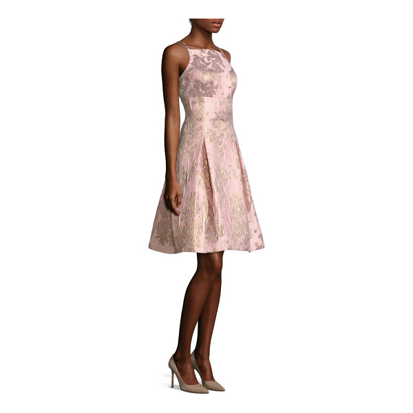 AIDAN MATTOX embroidered a-line cocktail dress - This striking a-line dress is perfect for formal parties....