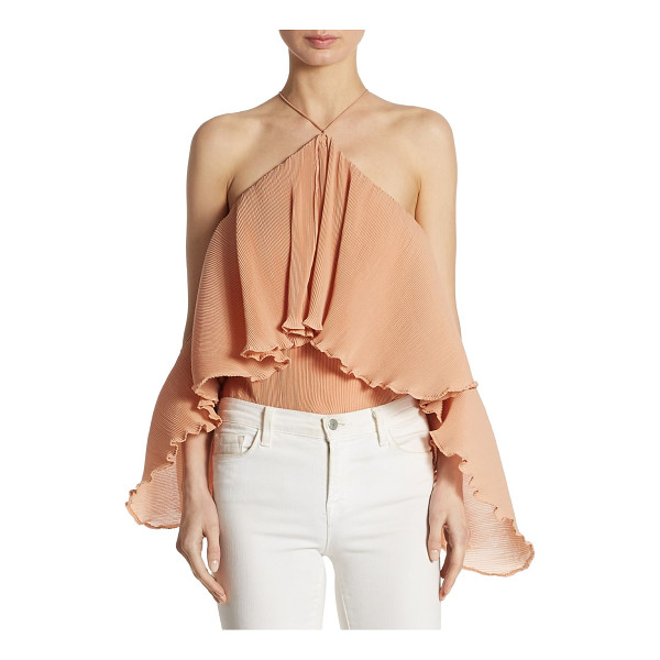 AIRLIE princess frilled bodysuit - EXCLUSIVELY AT SAKS FIFTH AVENUE. From the Summer Loving...