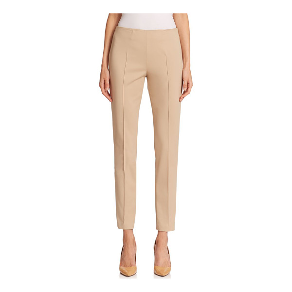 AKRIS melissa techno pants - From the Architecture Collection. Minimalist slim pants...