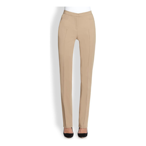 AKRIS PUNTO Francesca techno pants - With their slim, streamlined silhouette, these chic...