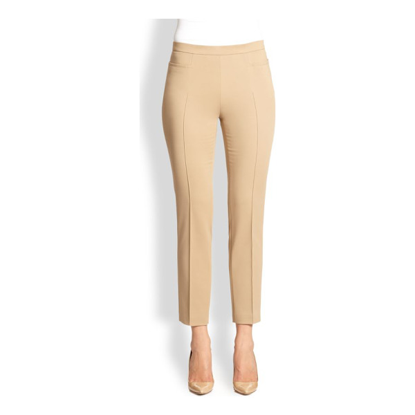 AKRIS PUNTO 1400 techno cotton franca pants - EXCLUSIVELY AT SAKS FIFTH AVENUE. Streamlined skinny ankle...