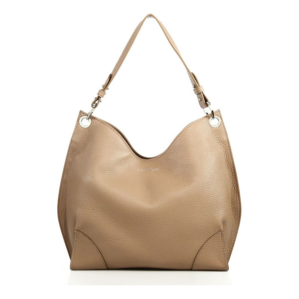 ALEXANDER MCQUEEN Legend small leather hobo bag - Slouchy hobo silhouette rendered in rich pebbled leatherTop...