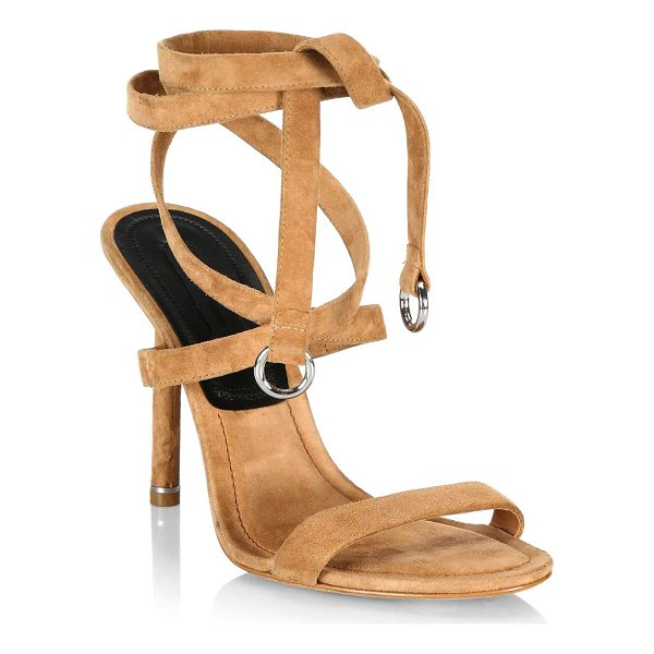 ALEXANDER WANG evie suede sandals - Suede sandals ideal for a fun and sophisticated style....