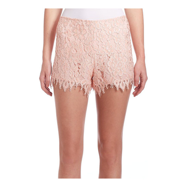ALEXIS Pia lace shorts - EXCLUSIVELY AT SAKS FIFTH AVENUEColor-pop hue defines...
