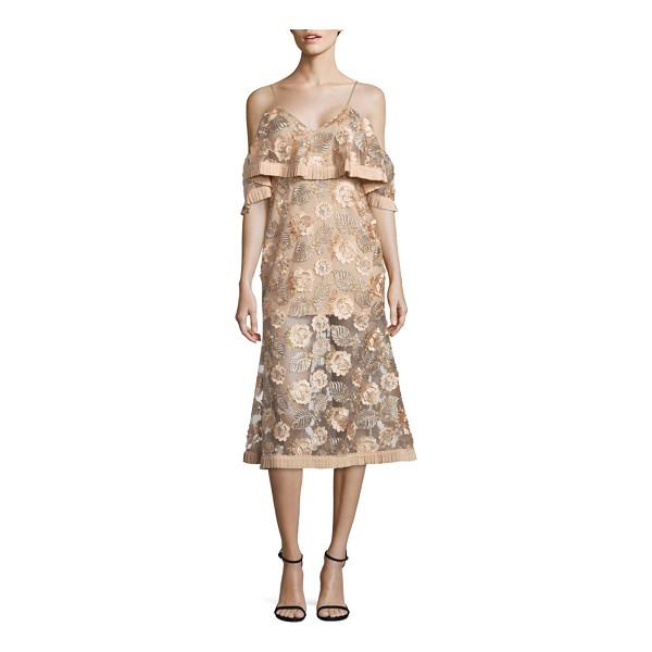 ALICE MCCALL diamond dancer northern lights cold shoulder dress - From the Diamond Dancer collection. Floral dress...