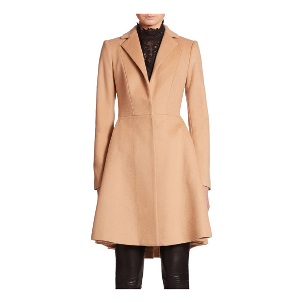 ALICE + OLIVIA Nikita fit-and-flare peacoat - A fit-and-flare silhouette infuses flattering, feminine...